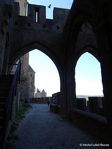 10. Cité Médiévale de Carcassonne, -Rempart gallo-romain nord