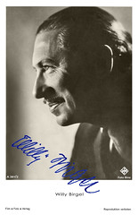 Willy Birgel mit Autogramm (zimmermann8821) Tags: atelierfotografie drittesreichnationalsozialismus film fotografie frisur herrenfrisur künstlerpostkarte postkarte schauspieler starpostkarte ufa
