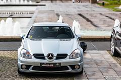 Mercedes SLK 55 AMG (Emotion Auto Prestige) Tags: nissan 370z porsche cayman s 911 991 996 gt3 targa 4s lotus elise 111 111s ferrari 575 575m maranello mclaren 650s spider aston martin v8 vantage lexus isf mercedes slk 55 amg subaru impreza wrx sti lamborghini gallardo spyder line up 5 ans cars coffee normandie bentley continental gt opel astra opc