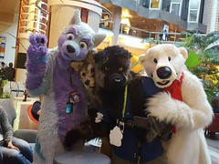 I also wanted to thank three friends from #日本 ^-^ Ham, Sekki and Kohaku were at NordicFuzzCon 2017 - Japan: Samurai or Super Kawaii? as well and we spent some time together. Thank you very much for your visit and I hope you've had a good time! I also want (Keenora Fluffball) Tags: keenora fursuit furry kee