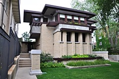 Service entry view (teohwp85) Tags: house chicago frank illinois view bach lloyd service wright entry emil