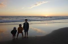 Manzanita beach (neil_and_karen) Tags: road trip sunset beach oregon sand play manzanita