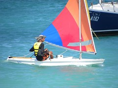 095-DSCN9424 (eric15) Tags: sea beach water race cat for boat eva surf sailing wind offshore sailors luna aruba international dash sail regatta sailor optimist sunfish oranjestad surfside