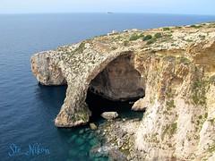 Blu Grotto (Ste_Nikon) Tags: mediterraneo mare blu malta ferie vacanze grotta spaccatura blugrotto