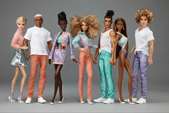 Versace Inspired OOAK Dolls (toomanypictures1) Tags: world charity inspiration dutch barbie donation mattel versace carlyle nuera ooakbarbie
