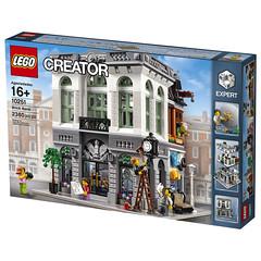 LEGO Creator Expert Modular 10251 Brick Bank box front (HelloBricksCom) Tags: lego bank modular creator 2016 legocreator 10251 brickbank creatorexpert hellobricks