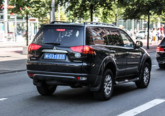 Poland Diplomatic (Libya) - Mitsubishi Pajero Sport (PrincepsLS) Tags: berlin sport germany poland plate polish license libya 31 mitsubishi spotting pajero diplomatic