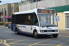 YJ56 AOZ: Holmeswood Coaches, Holmeswood (chucklebuster) Tags: solo coaches burnley optare tyrer holmeswood yj56aoz
