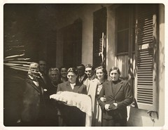 Battesimo di Michaela. 1951 (GiannLui) Tags: maria battesimo michaela ziamaria luigina 1951 gino tilde mimmi lelio nonnatilde giampietro