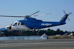 C-GHJJ (HeliJet) (Steelhead 2010) Tags: victoria helicopter helijet sikorsky s76 creg cghjj