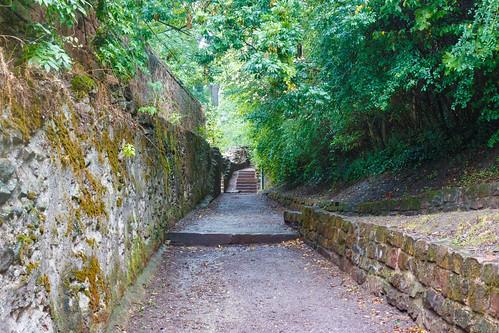 Chemin des remparts à Wissembourg