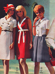 Aldens 69 ss dresses 3 (jsbuttons) Tags: 1969 clothing mod 60s buttons womens catalog 69 sixties aldens vintagefashion