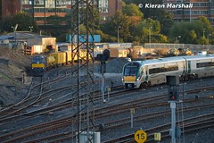 22014 and 076 at Heuston, 7/10/15 (hurricanemk1c) Tags: dublin irish train gm rail railway trains railways irishrail rok rotem generalmotors heuston 2015 emd icr 071 076 iarnród 22000 22014 éireann iarnródéireann 4pce sperrytrain islandbridgejunction heustonconnolly 0735northwallwaterfordbelview