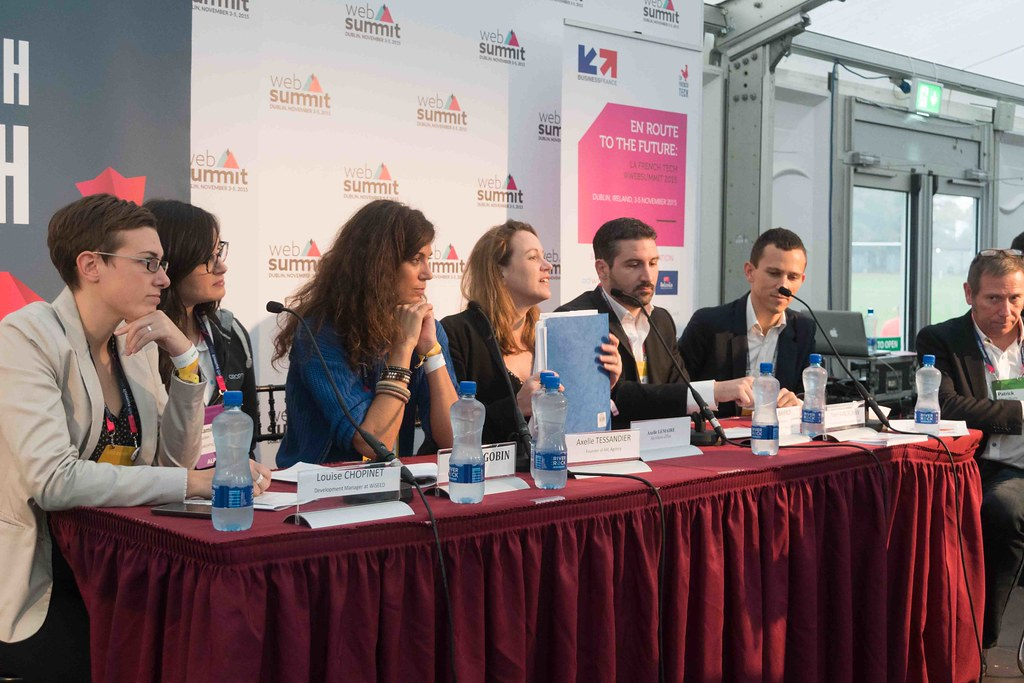 TODAY AT THE WEB SUMMIT THERE WAS A PRESS CONFERENCE HOSTED BY AXELLE LEMAIRE [FRENCH MINISTER RESPONSIBLE FOR DIGITAL AFFAIRS]-109921