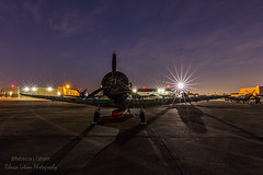 Waiting For Sunrise (rebeccalatsonphotography) Tags: sky clouds sunrise canon airplane outdoors texas outdoor tx aviation wwii houston airshow f22 warbird starburst wingsoverhouston avgeek 5dsr