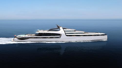 Яхта ADMIRAL X Force 145 от Dobroserdov Design