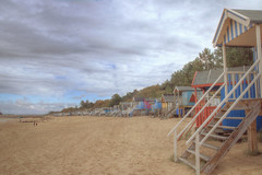 "Wells Next To The Sea (steiner2009 ""AKA Dr Dust "") Tags: sea beach stairs steps wells next huts skysand landscapebeach"
