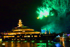 Northern Star Fireworks Bahia Mar Hotel (gulfstreammediagroup) Tags: marine fireworks northernstar bahiamarmarina2015fortlauderdaleinternationalboatshow