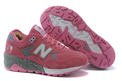 NB 580 Womens New Balance Barbie Doll Wool Pink Gray Shoes (RobertThrashy) Tags: shopping discount cheap runningshoes coupon womensshoes retrostyle onlinestore newbalance580 fashionsneakers popularshoes