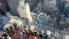New York: Top of the Rock (Rockefeller Center) - the observation desk