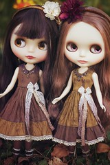 Silk Dresses for Blythe