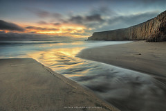 Davenport Beach (hazarika) Tags: california sunset davenport pacificcoast davenportbeach sanvicentecreek canon1635mmf28liiusm canon5dmarkiii singhray3stopreversegnd mausamhazarikaphotography