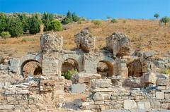 First Ruins (hecticskeptic) Tags: turkey ephesus libraryofcelsus templeofhadrian bouleuterion nymphaeumtraiani markamorgan