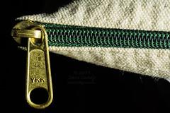 2015-11-17 (321/365) Zipper (lundyd) Tags: closeup bag panasonic zipper ykk davelundy leicadgmacroelmarit45f28 dmcgh4