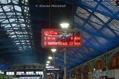 Pearse, 28/11/15 (hurricanemk1c) Tags: dublin irish train rail railway trains santaclaus railways irishrail pearse 2015 iarnród éireann iarnródéireann