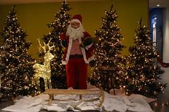 kerstman in Kardinge (zaqina) Tags: kardinge kerstman santa claus slee kerstboom kerstbomen