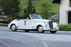 Mercedes-Benz 220 (1955) (Roger Wasley) Tags: mercedesbenz 220 1955 arlberg classic car rally 2016 lech austrian alps austria europe mercedes benz