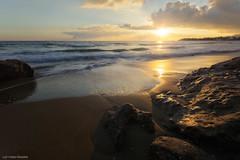 3046 (Lefteris Kriaris) Tags: greece crete beach sky sunset seascape sand clouds