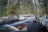 December evening on Hietala's rapid (LuonnonKuvaaja) Tags: rapid water river pattijoki winter cold forest trees rock ice cloudy lasikangas ylipää raahe finland nature long exposure dörr samyang 8mm f35 fisheye