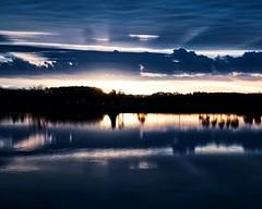 Upper Deck Sunrise (DASEye) Tags: davidadamson daseye nikon aroundthehouse sunrise dawn bleachbypass lake water reflected reflections reflection