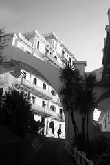 W (Adrien Duchâtel) Tags: paysbasque france noir blanc black white house pont rue street