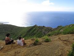 Koko head (tamagot.art) Tags: hawaii hike kokohead view landscape ocean mountains