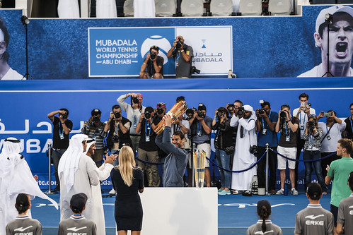 "Rafael Nadal wins the Mubadala World Tennis Champtionship in Abu Dhabi • <a style=""font-size:0.8em;"" href=""http://www.flickr.com/photos/125636673@N08/31885536341/"" target=""_blank"">View on Flickr</a>"