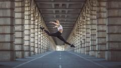 (dimitryroulland) Tags: nikon d600 85mm 18 dimitry roulland paris france bridge urban street city dance dancer jump sport performer art natural light