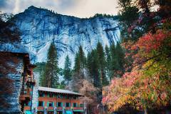 Majestic Yosemite Hotel (J*Phillips) Tags: nationalpark california trees landscape yosemite mountains hotel