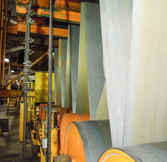 Labyrinth of Heavy Industry (Counselman Collection) Tags: counselman mcclure industry steel coils automotive roll roller cable heavy