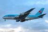HL7619 - 2012 build Airbus A380-861, on approach to Runway 27R at Heathrow at dusk (egcc) Tags: 96 a380 a380861 a388 airbus egll hl7619 heathrow kal ke koreanair lhr lightroom london skyteam superjumbo