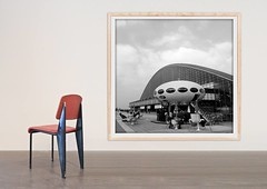 clement_cividino_jean_prouve_ribiere_futuro_house (Galerie Clément Cividino Ent. / L'extension) Tags: lidia masllorens pierre jeanneret jean paul barray charlotte perriand prouve hans pieck georges candilis marc berthier peter ghiczy walter frey mac newson ron arad design designers art thierry carrier thomas dussaix ribiere photography photographie peinture mobilier affiche exposition 1970 midcenturymodern futuro house auctions collection gallery galerie curateur clement cividino architecture construction graphic cinetique geometrie fauteuil chaise sculpture plastique plastic fiberglass spaceage exhibition isaac barreda perpignan montpellier france leucate poster posters midcentury