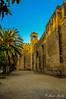 Rincones Cordobeses... (Javier Arcilla) Tags: alcazar murallas rincones palmeras piedras arquitectura cordoba andalucia españa cielo azul pentax pentaxk50 k50 pentax1855mm 1855mm hdr