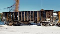 P&LE 61141 (BuffaloRailfan30) Tags: hamburg ny trains snow pittsburgh lake erie ple coal open hopper car