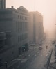 brouillard d'hiver (cébé céline) Tags: rue centreville montréal brouillard matin hiver 800am