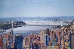 Hudson River [explore] (MoArt Photography) Tags: nyc hudsonriver oneworldcenter berndspeck manhattan georgwashingtonbridge moartphotography