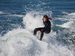 HB Surfer (Jose Matutina) Tags: california dude guy huntingtonbeach male man ocean olympus omdem10mii orangecounty pacific sea sport sports surfer unitedstates water