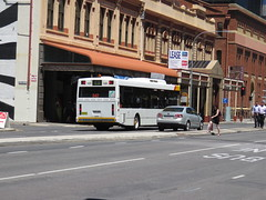Mercedes Benz O405NH 542 on Grenfell St (RS 1990) Tags: adelaide southaustralia friday 27th january 2017 bus mercedesbenz o405nh 542 grenfellst