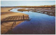 Shadow, West Barns Beach (Gordon_Farquhar) Tags: dunbar west barns beach lothian ness lighthouse torness power station scotland scottish east coast