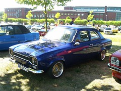 Ford Escort MK1 (911gt2rs) Tags: treffen meeting show event tuning tief stance youngtimer hundeknochen knochen blau blue rs2000